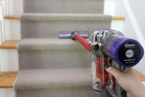 Dyson Stairs Cleanup Review