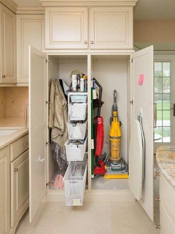 Stick Vacuum in closet