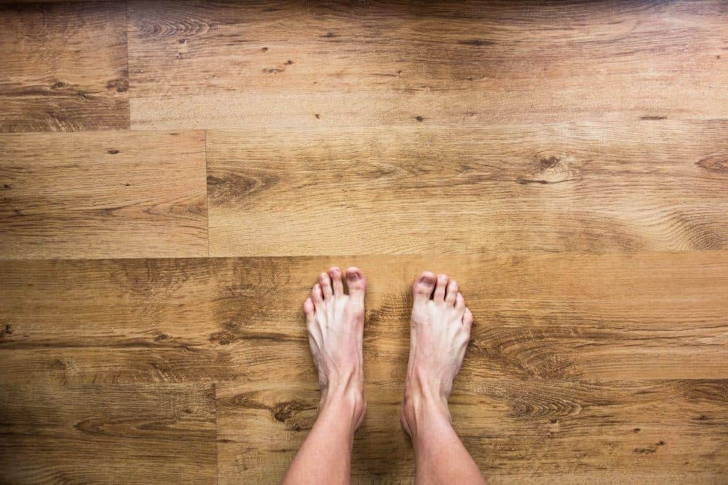 deep clean hardwood flooring