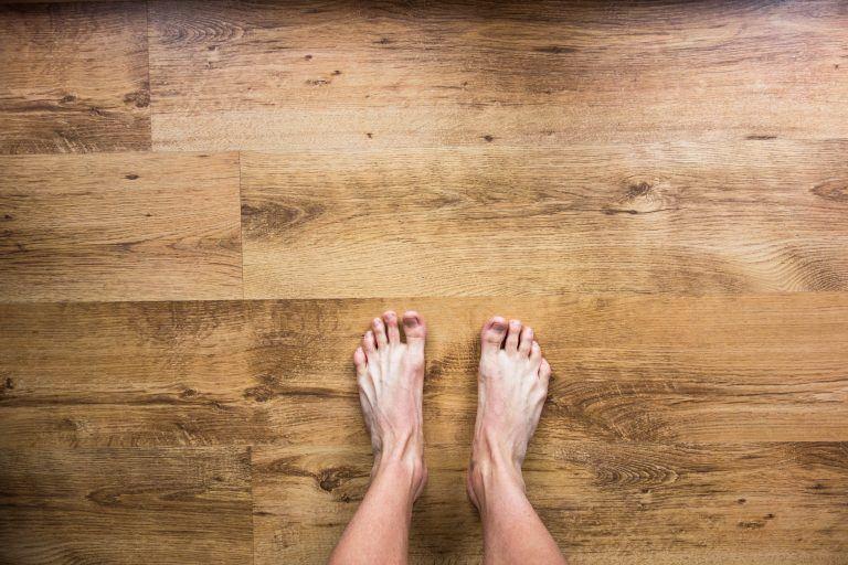 deep clean hardwood flooring