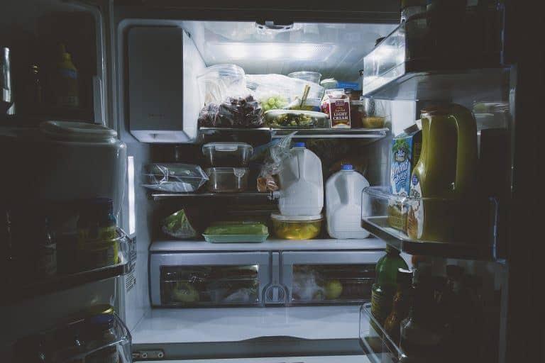 clean fridge freezer