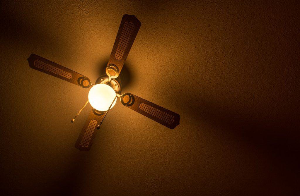 save money with ceiling fans