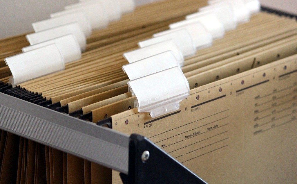 keep important files and documents organized