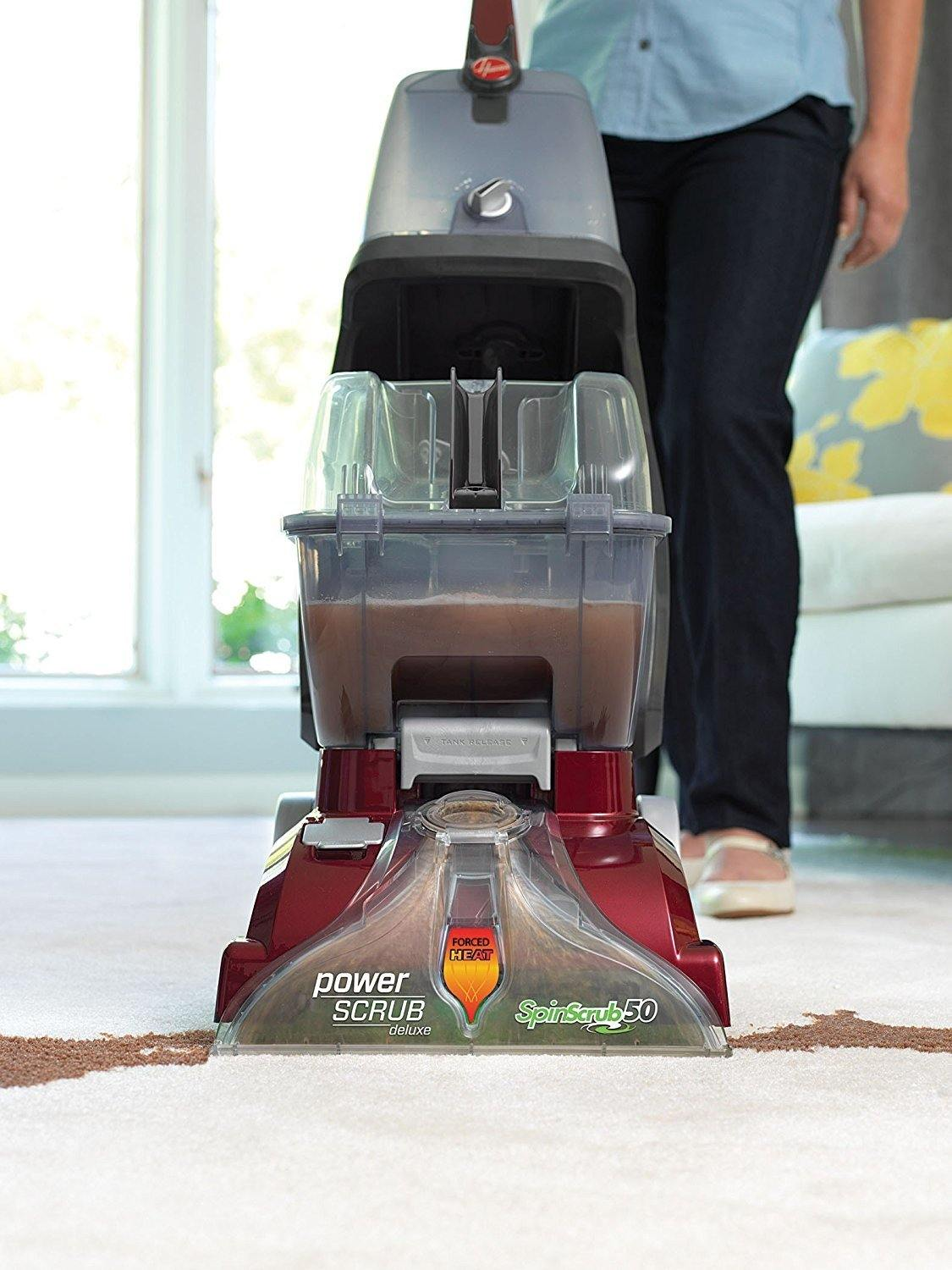Hoover Power Scrub Deluxe Carpet Washer review