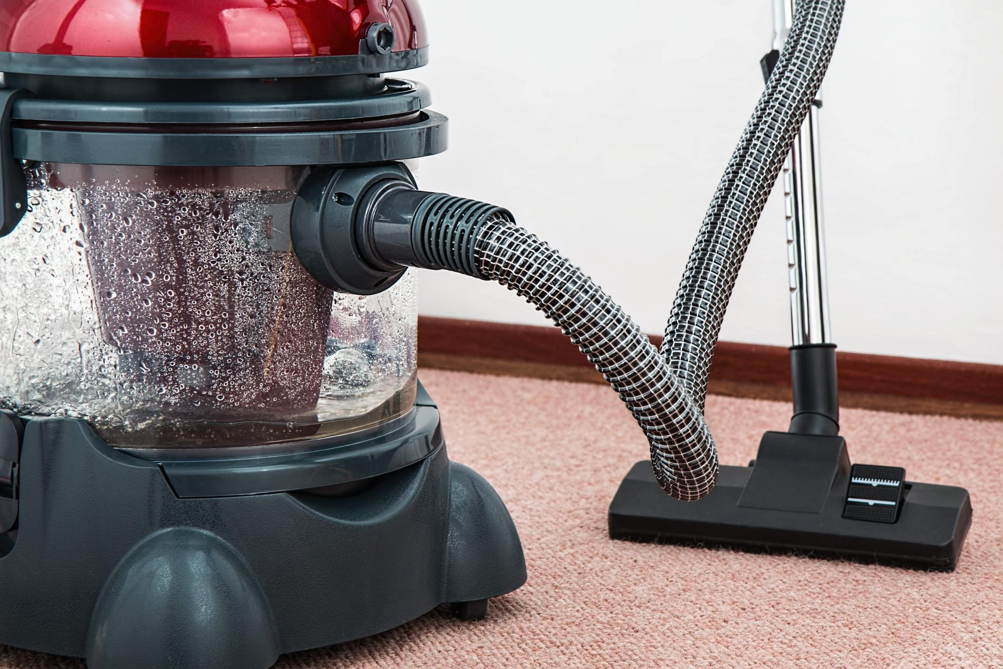 vacuum carpet steam clean