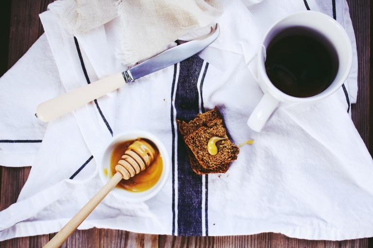 table with honey bread food stains how to wash a table cloth