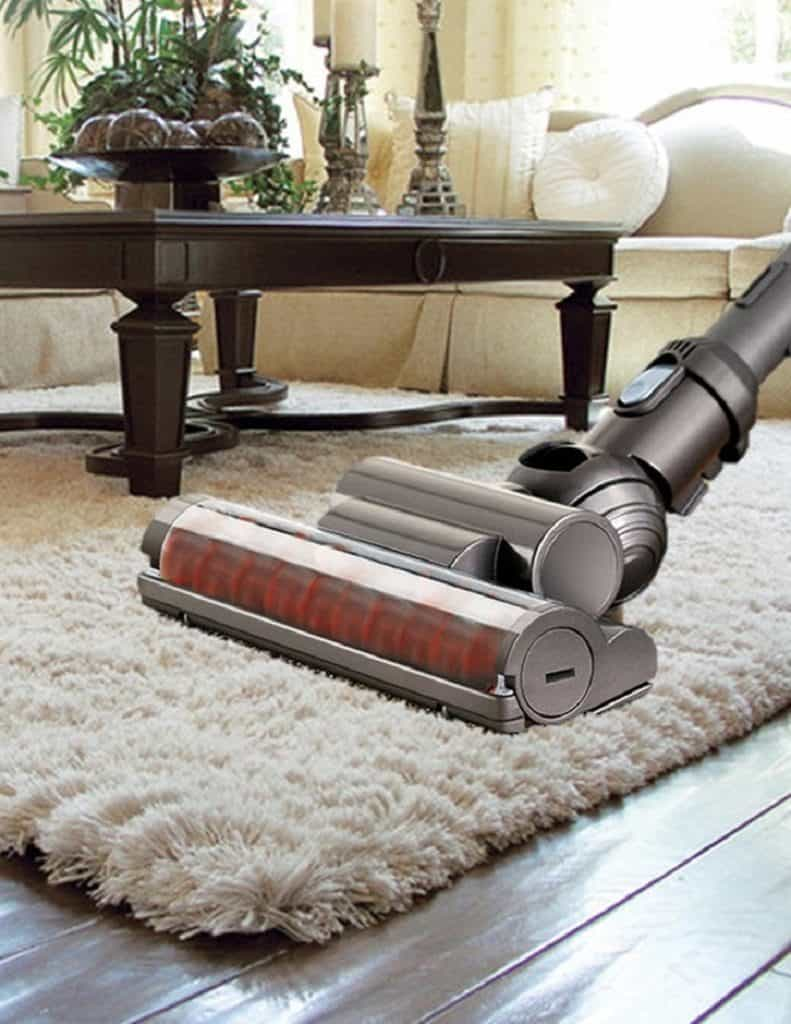 Vacuum on high pile carpet