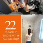 Cover image for 22 cleaning hacks with baking soda
