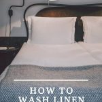 Cover image for how to wash linen