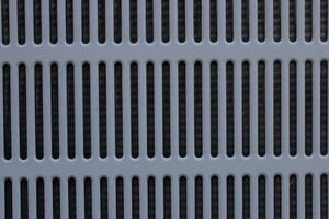 Close up of an ac filter