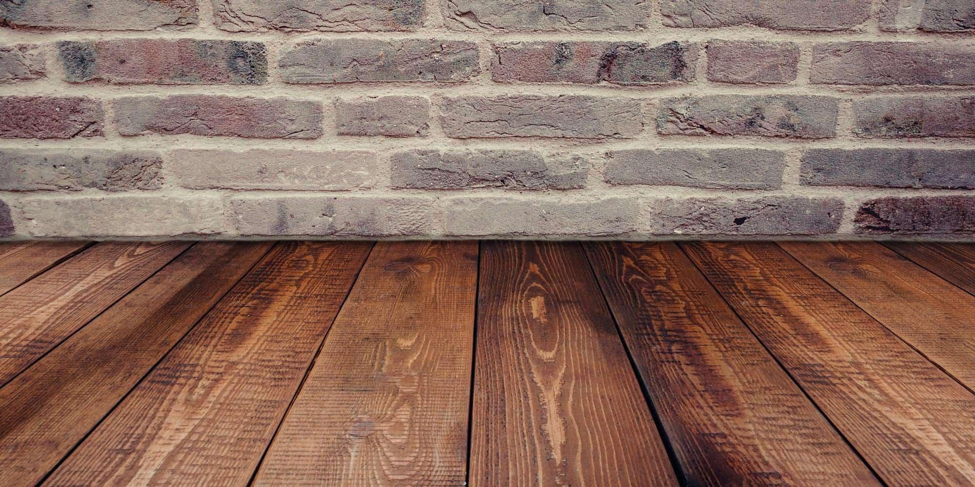 Black and brown hardwood flooring