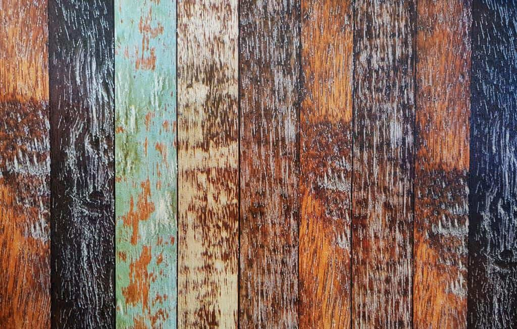 Wooden colored hardwood