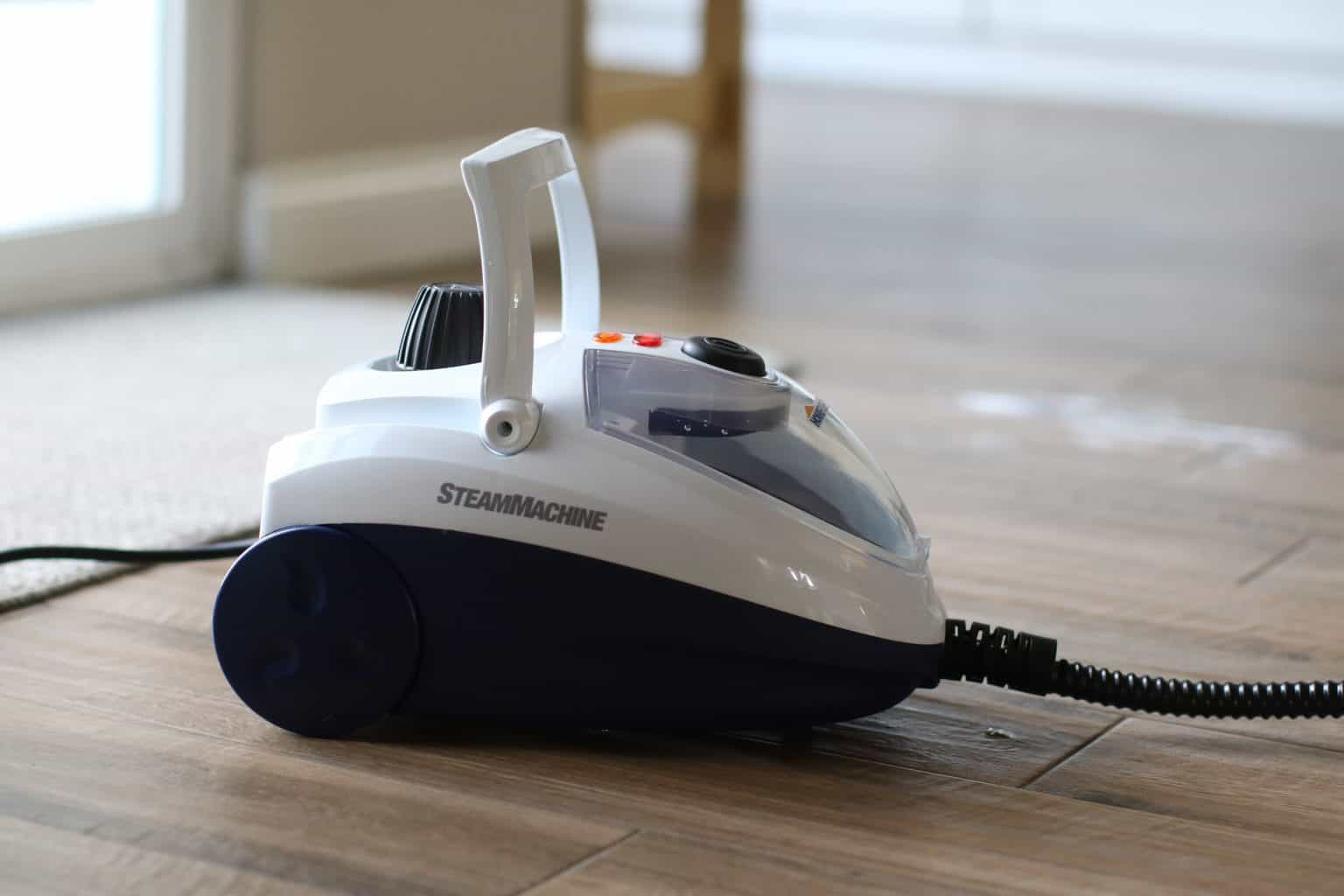 Steam cleaner suitable for a mattress