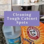 Cover image for cleaning tough cabinet spots