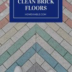 Cover image for how to clean brick floors
