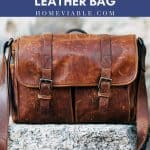 Cover image for how to clean water stain from leather bag