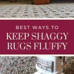 Cover image for best ways to keep shaggy rugs fluffy